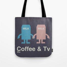 Coffee & Tv Tote Bag