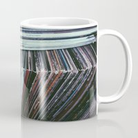 vinyl Mugs featuring Vinyl by Rachel Brown
