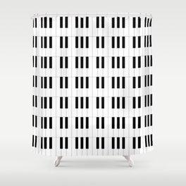 Piano Key Stripes Shower Curtain