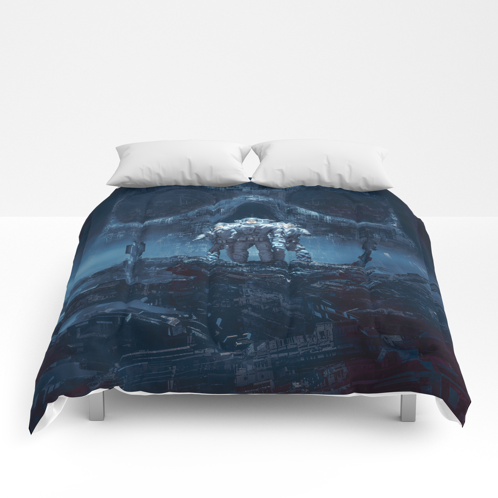 Planet Of Doom Comforter by Grandeduc CMF8497739