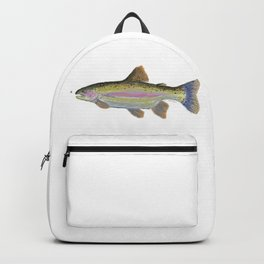 Rainbow Trout & Fly Backpack