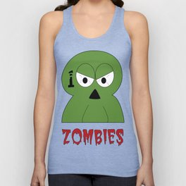 100 Zombies logo Unisex Tank Top