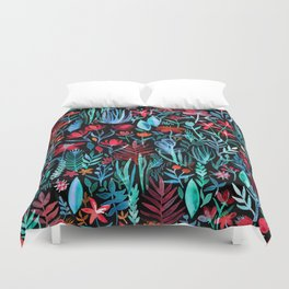 Though I Walk at Night Duvet Cover
