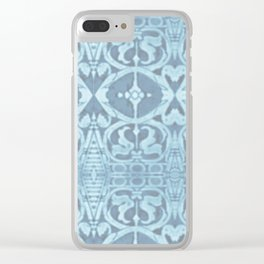San Lorenzo Blue Clear iPhone Case