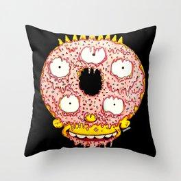 Donut Boy Throw Pillow