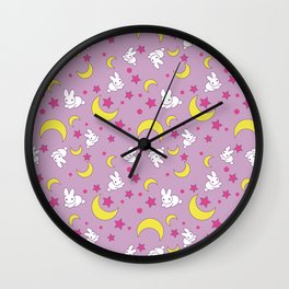 Usagi's Pattern Old Style Wall Clock