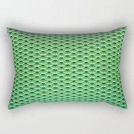 Watcher of the Waves #mermaidscales Rectangular Pillow
