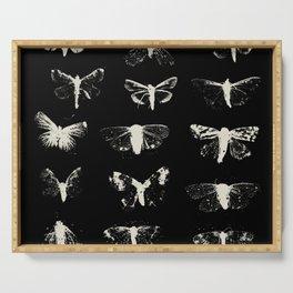 moths Serving Tray