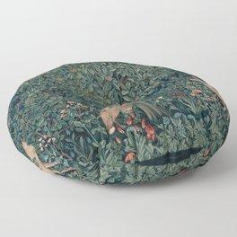 William Morris Greenery Tapestry Floor Pillow