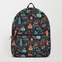 Floating Pagodas Backpack