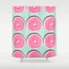 Grapefruit Shower Curtain