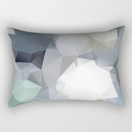 Hoppel — low poly art, nature, forest, mountains, landscape, minimalistic ar, home office, living  Rectangular Pillow