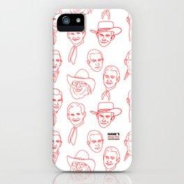 Hank's favorite Hanks iPhone Case