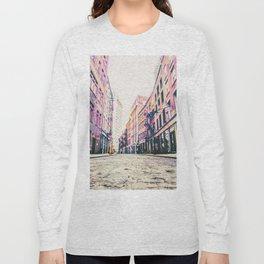 Stone Street - Financial District - New York City Long Sleeve T-shirt