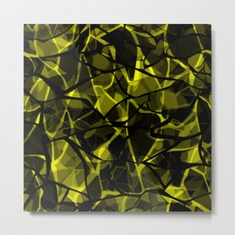 Abstract 31 camouflage Metal Print