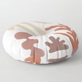 Autumn Garden Harmony Terra Floor Pillow