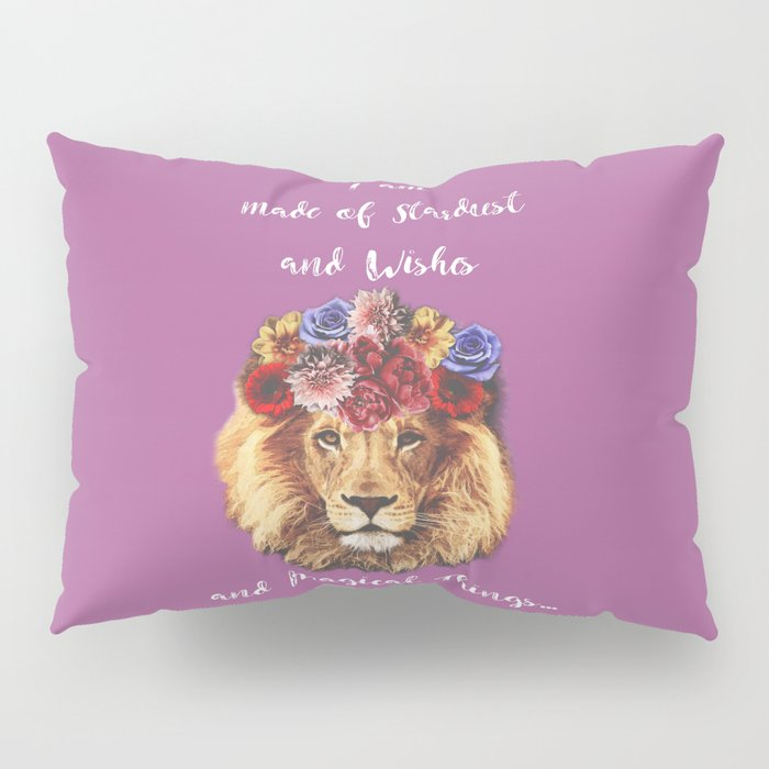 Stardust Lion Pillow Sham