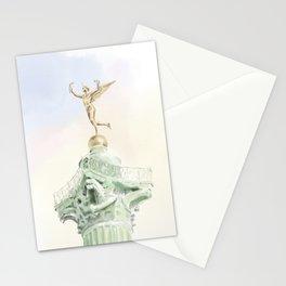 Colonne de Juillet , Place de la Bastille Stationery Cards