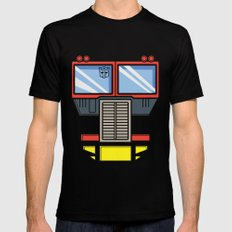 Transformers - Optimus Prime Black Mens Fitted Tee MEDIUM