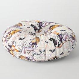 Halloween Witch #2 Floor Pillow