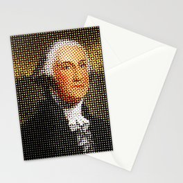 George Washington in Dots Stationery Cards