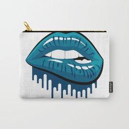 Jordan 13 Flint Matching Tee Bite Lips Retro 13 Navy Carry-All Pouch