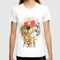 pixar T-shirts featuring Disney Pixar Play Parade - Incredibles Unit by Joey Noble