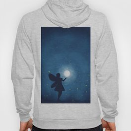Fairy at Night Moon Hoody