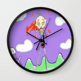 """"""" En-compassing """" Wall Clock"""