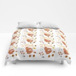 Gobble 'til Ya Wobble Comforters
