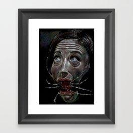 Consumtion Framed Art Print