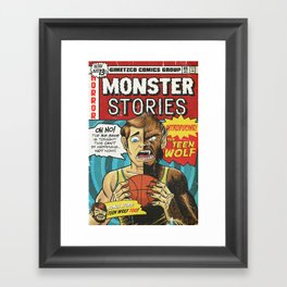 Bargain Bin: Teen Wolf Framed Art Print