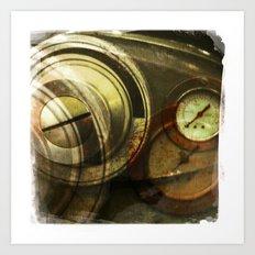 grey gauge Art Print