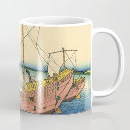 "Hokusai (1760–1849) ""The Kazusa Province sea route"" Coffee Mug"