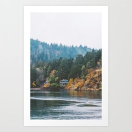 Mayne Island (Vancouver Island) Art Print