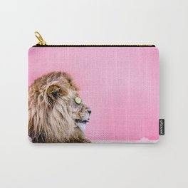 Lion in the Bathtub Carry-All Pouch