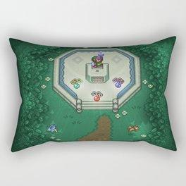 Zelda Mastesword Pixels Rectangular Pillow