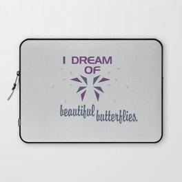 Beautful Butterflies Laptop Sleeve