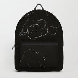 Belle Ligne (oil on canvas) Backpack