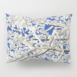 Frosted Tree Pillow Sham