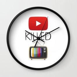 YouTube Killed the TV Wall Clock