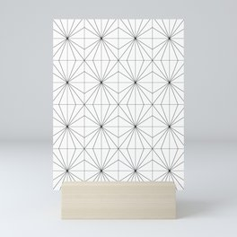 Crystal Pattern Mini Art Print