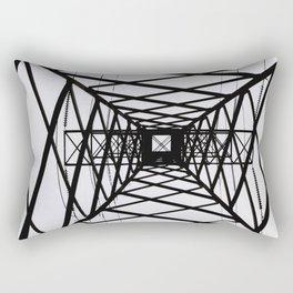 metal structure Rectangular Pillow