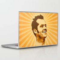 jack nicholson Laptop & iPad Skins featuring Nicholson by Durro