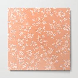 Gisophila peach Metal Print