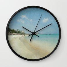 Vintage Aruba Wall Clock