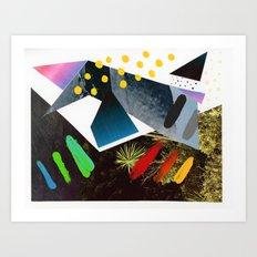 Composition 554 Art Print