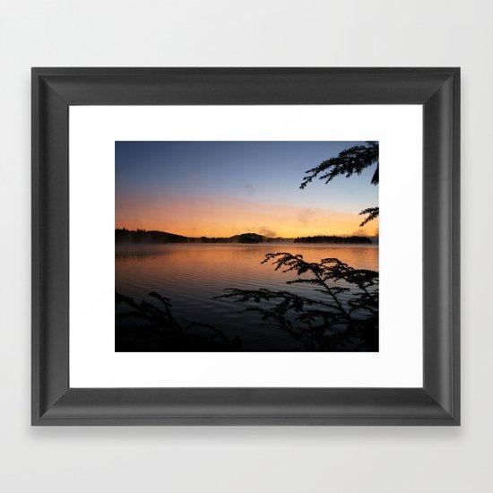 Adirondack Reflections Framed Art Print