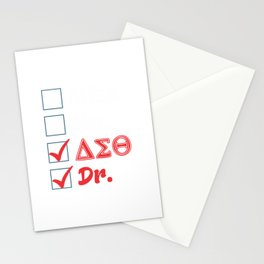 Medical School Graduation Physician Doctor Stationery Cards