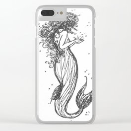 Deep Waters Clear iPhone Case